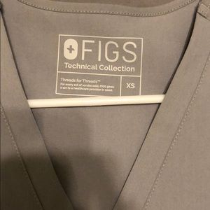 NWOT Figs Casma top size XS